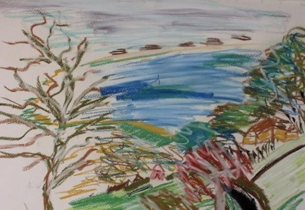 Rostislav-Romanov-View-of-Rye-bay-2007-2008-oil-pastels-charcoal-and-felt-tip-pen-30-by-20cm-e1426251446540[1]