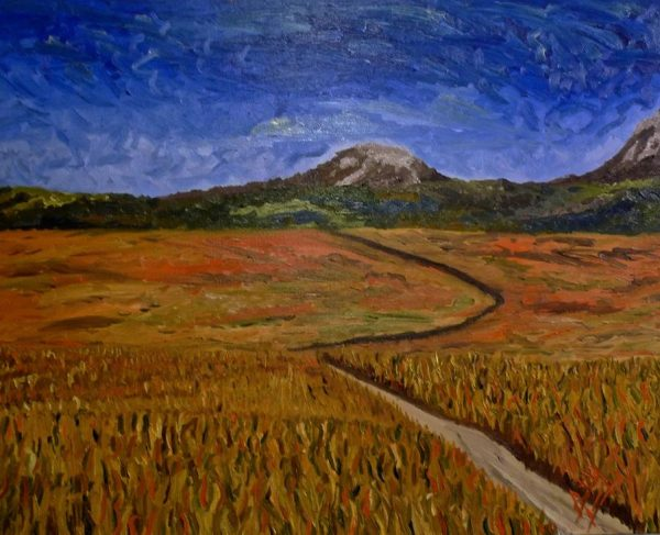 Golden Fields of Kazakhstan 2014, oil (Copy)